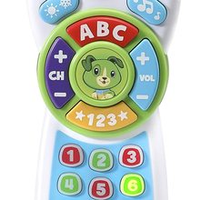 Remote control play and learn from CEFA TOYS, imitation toy, colors, numbers, letters and words, child, starting 6 months