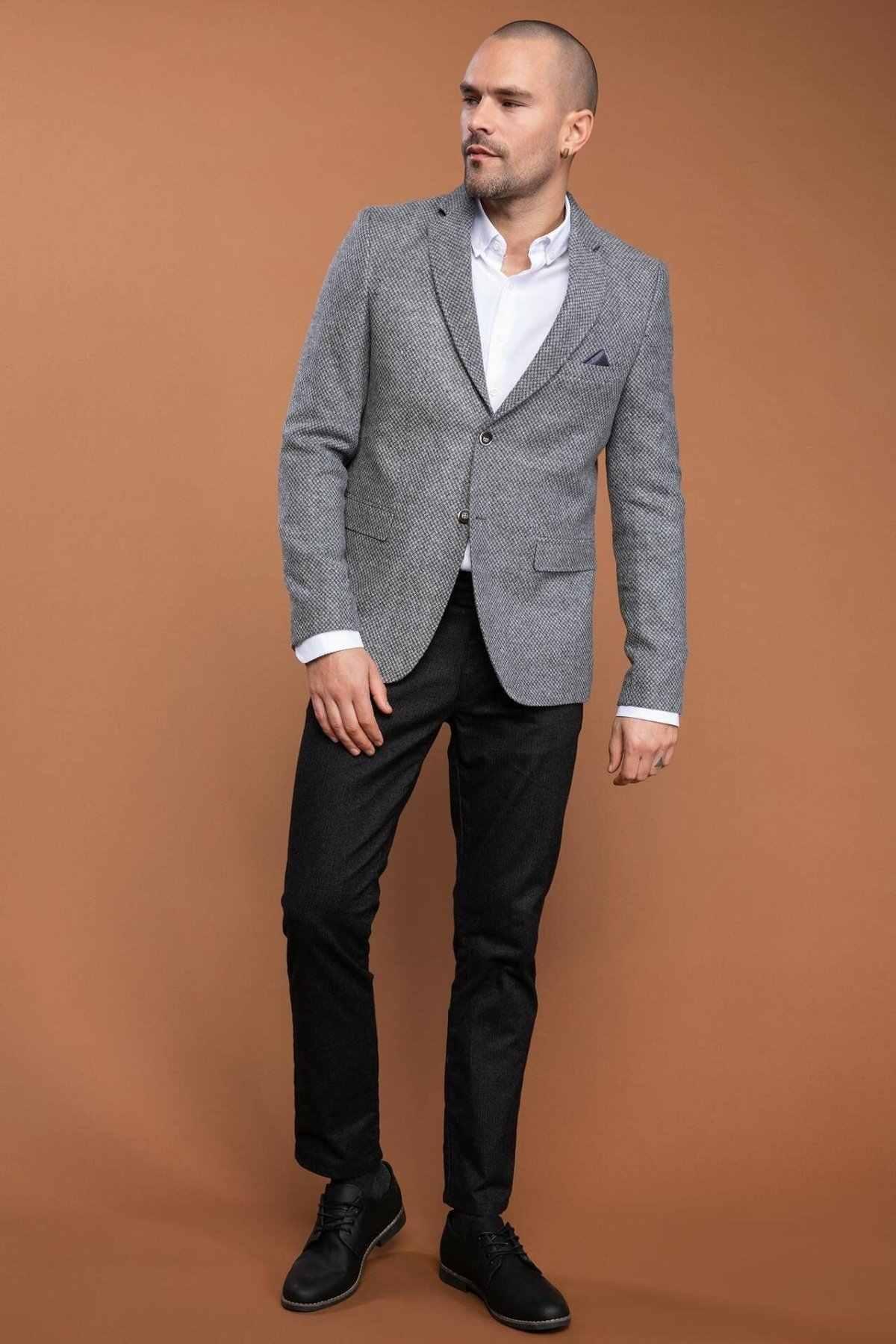 自由デファクト品質ブランドの男性秋の場面コートメンズファッションビジネスブレザージョーカー新 K6358AZ18WN