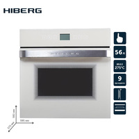 Built in electric oven with convection HIBERG VM 6495 W household home appliances for the kitchen electric oven cooking food