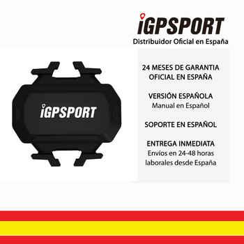 IGPSPORT C61 (versión española) -Sensore di Cadencia inalámbrico ANT + y Bluetooth 4.0 Ciclismo Bicicleta. Garmin Wahoo Bryton App ..