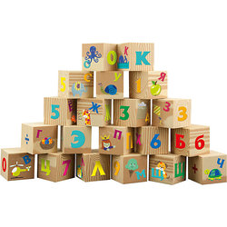 Soft cubes Little Hero Letters and numbers