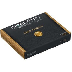 Coffee arabica Mogorttini, compatible with professional Nespresso 50 capsules.