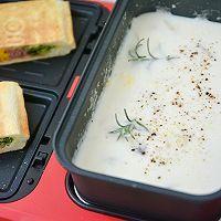 奶油虾仁蘑菇汤的做法图解9