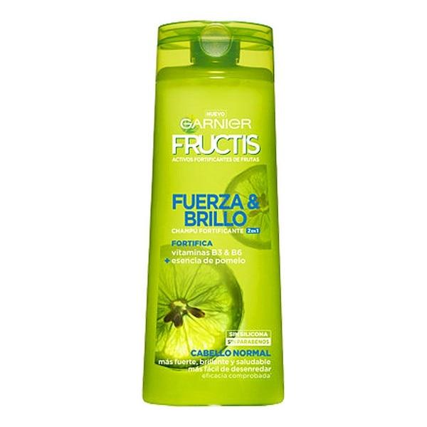 Strengthening Shampoo Fructis Fuerza & Brillo 2 En 1 Garnier (360 Ml)