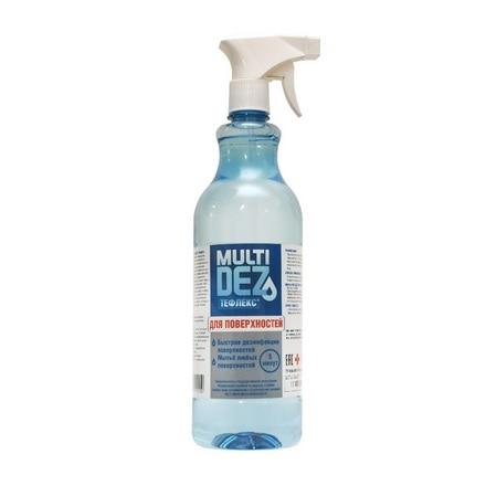 Тефлекс, Средство для мытья и дезинфекции поверхности «МультиДез», 1 л|Стерилизатор маникюрных инструментов| | АлиЭкспресс