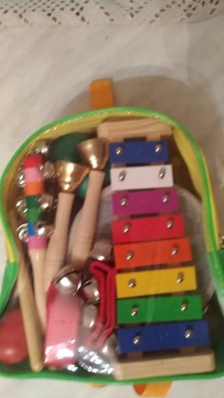 Instrumento musical de brinquedo transporte conjunto brinquedo