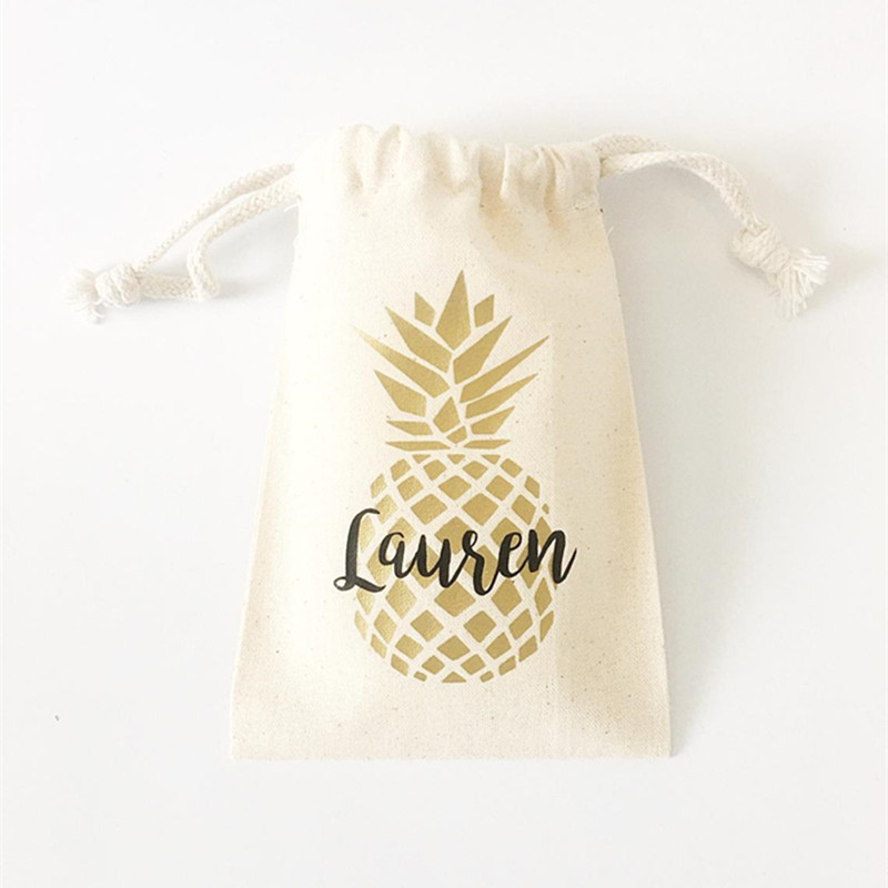 Bachelorette Party Kit Bags Pineapple Party Survival Bags Bride To Be First Aid Gift Bags Wedding Souvenirs Gold Welcome Bags