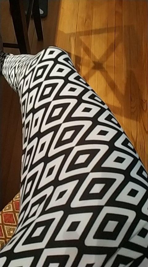 Women's Elastic Printed Leggins photo review