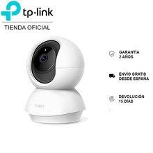 TP-LINK Tapo C200, caméra rotative de sécurité Wi-Fi, vidéo HD 1080p, vision nocturne, rotation X/Y, détection de mouvement