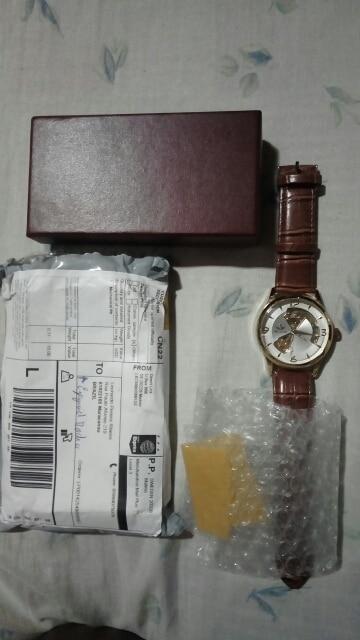 SEWOR montre pour homme mécanique automatique décontractée de luxe bracelet en cuir véritable 2017