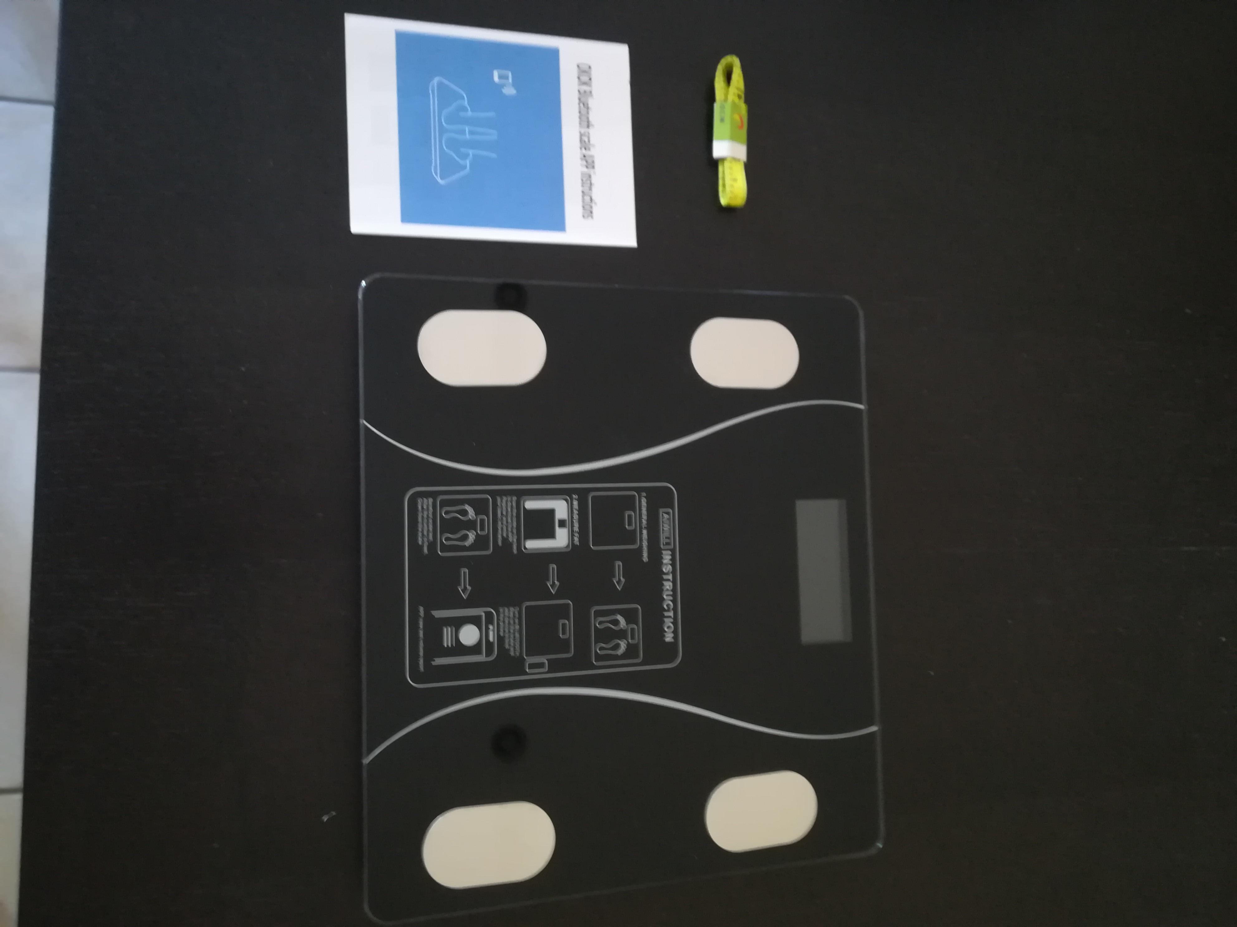 Balança de banheiro Bluetooth Aiwill Household