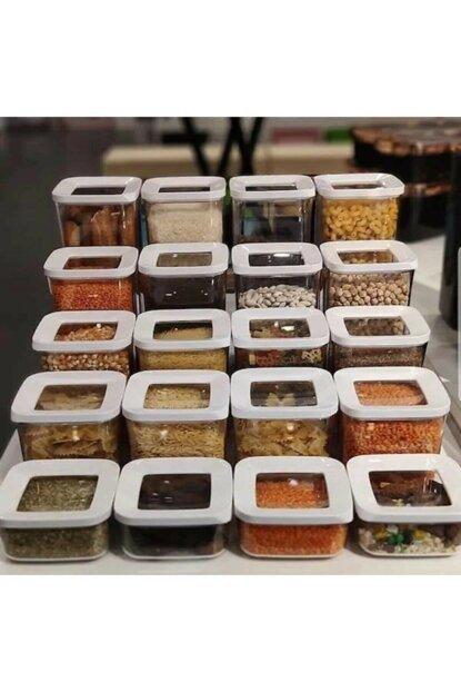 12 PCs high quality storage box food storage container plastic kitchen refrigerator noodles box multi-grain storage storage organizer kitchen drawer organizer containers
