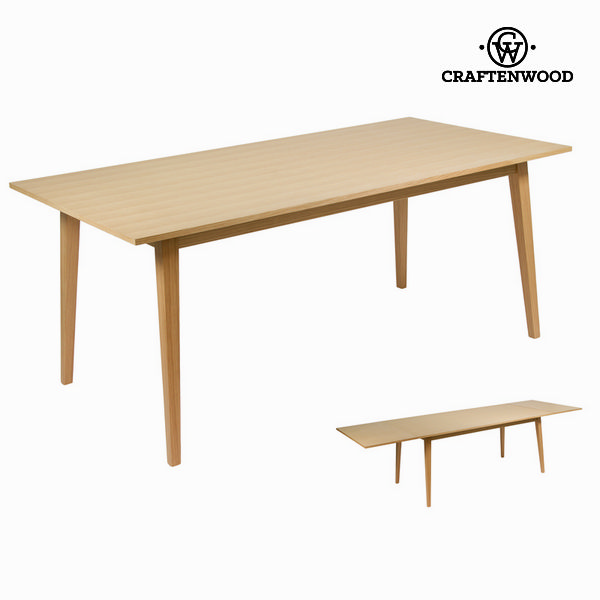 Expandable Table Wood - Modern Collection By Craftenwood