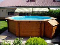 K2O Pool Solid Wood 440 cm x 130 cm Sf-Pm001Sf