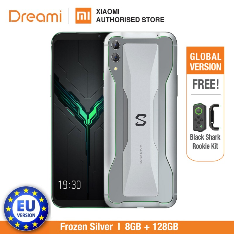 Global Version Xiaomi Black Shark 2 128GB Rom 8GB Ram Shadow Black Gaming Phone (Official) Blackshark2256 Smartphone Mobile