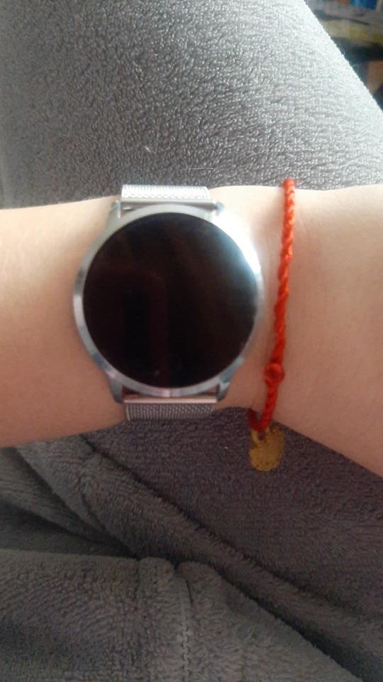New Q8s OLED Bluetooth Smart Watch Stainless Steel Waterproof Wearable Device Smartwatch Wristwatch Men Women Fitness Tracker Smart Watches     - AliExpress