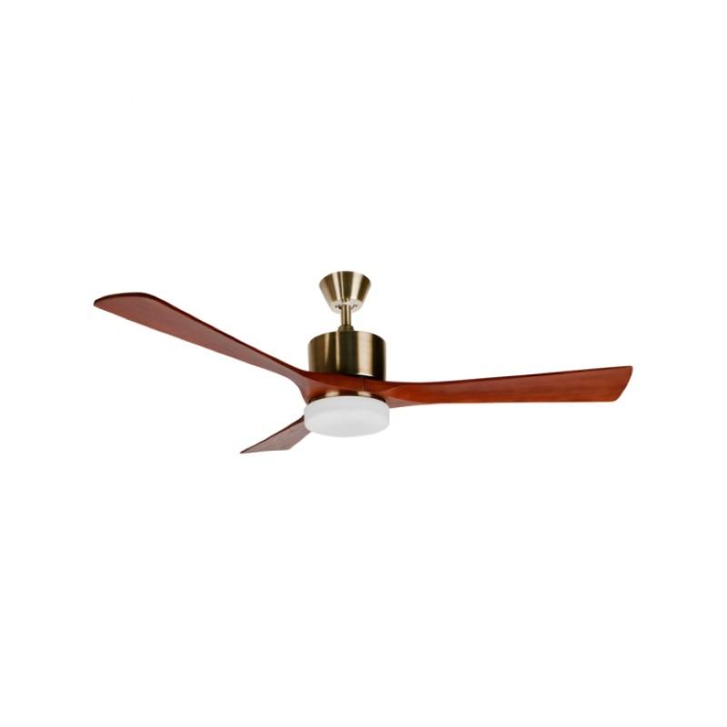 Ceiling Fan With Light Orbegozo CP97132 70W Wood (ø 136 Cm)