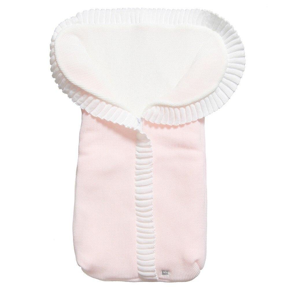 Minutus-Sleeping Bag For Bebe Knitted, 75 Cm, Universal, Sack For Pram For Newborn, Envelope Infant Swaddle Bebe