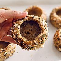 咖啡布丁面包碗的做法图解1