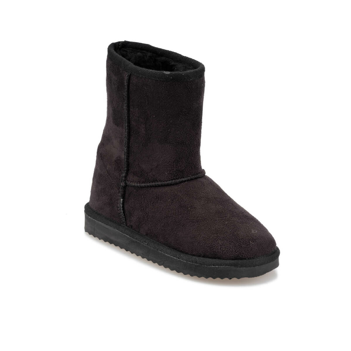 FLO Girls Shoes Black Female Child Ankle Winter Shoes Fashion Comfortable Boots Сапоги для девочек 92.511953.F Polaris