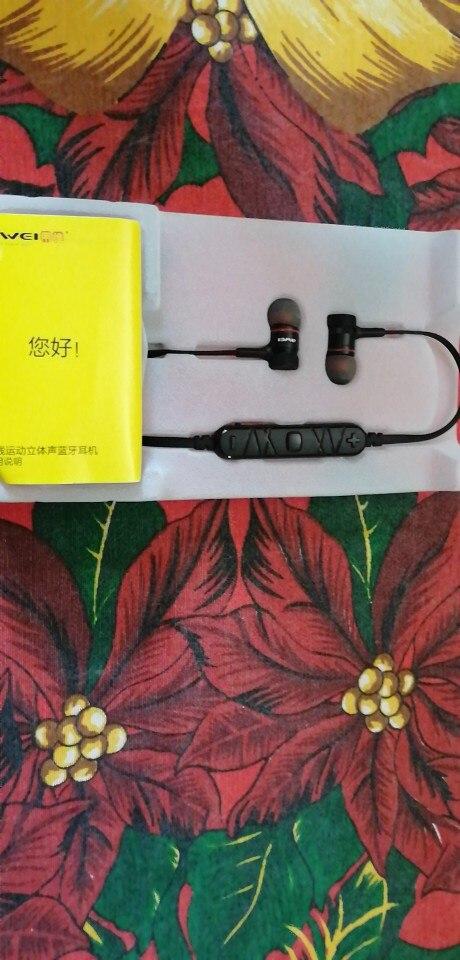 AWEI A920BL Wireless Bluetooth Earphone Sport Headset Auriculares Cordless Hand Free Earphones For iPhone Samsung Xiaomi Phones|Phone Earphones & Headphones| |  - AliExpress