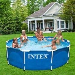Intex Pool gerüst metall rahmen 366x76 cm 6503л