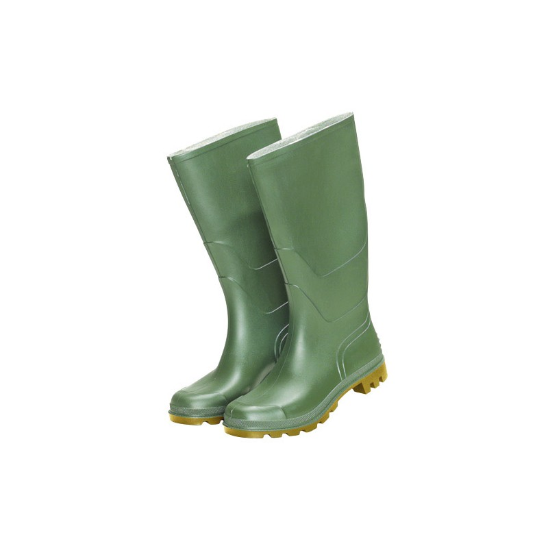 Rubber Boots Green High NO. 40 (Pair)