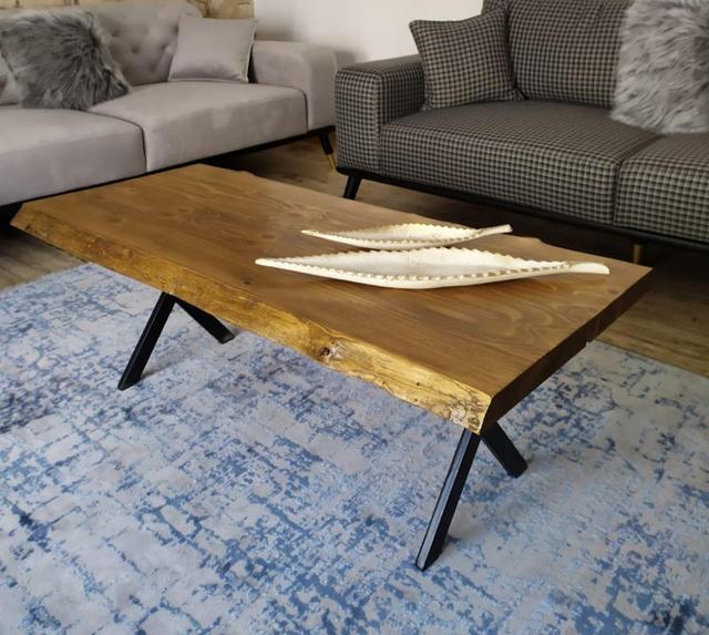 Ağaç orta sehpa Wooden Coffee Table 5