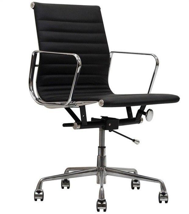 Office Armchair BEKES, Rotatable, Gas, Tilt, Similpiel Black