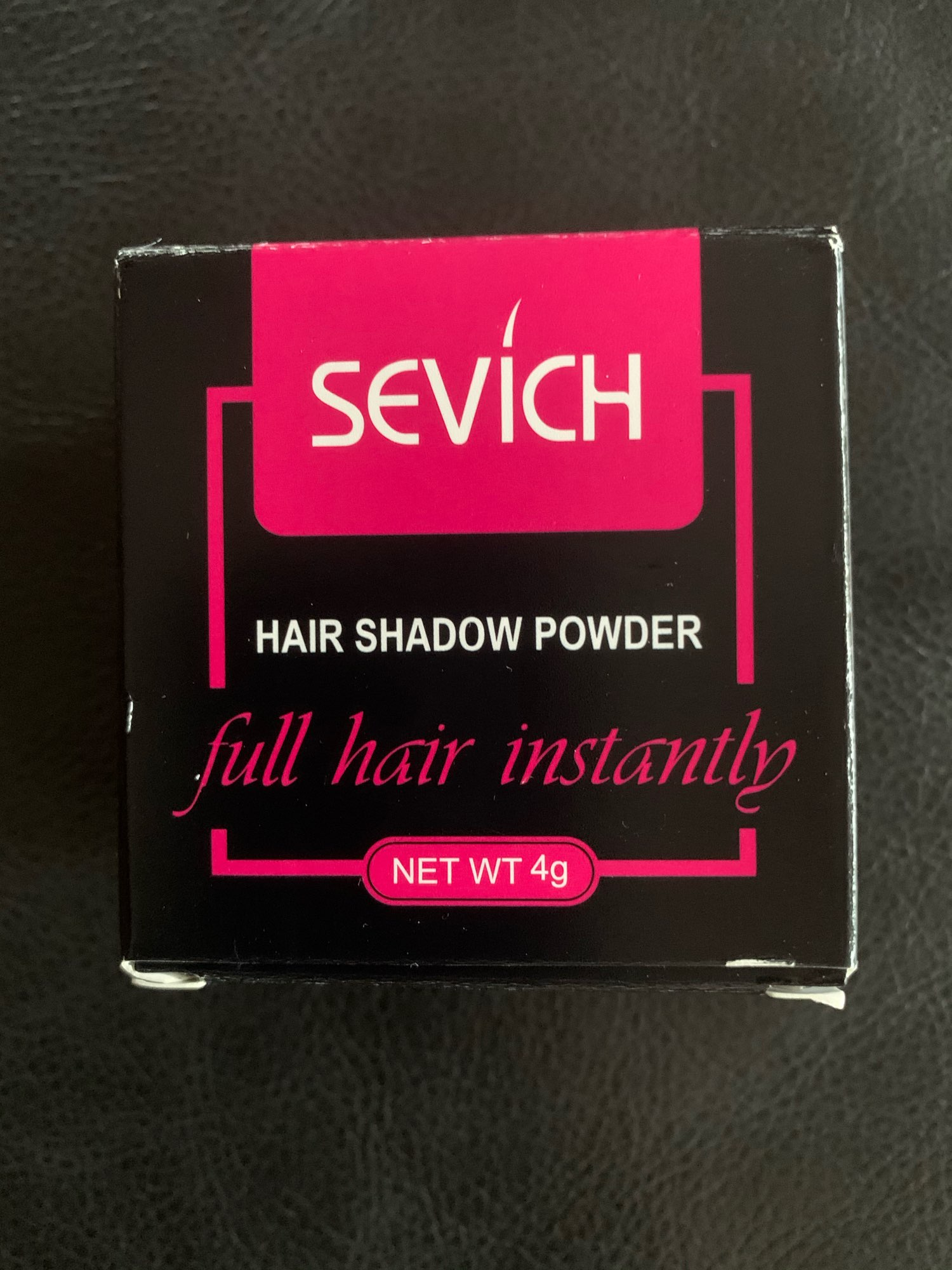 Sevich Water Proof Hair Line powder and Instant Hair Edge Control, Hair Line Shadow Makeup for Unisex photo review