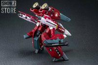 [Show.Z] Valkyrie Factory VF 1/60 VF 1J VF1J Valkyrie Milia F Jenius Custom Macross Robotech Red Version w/ Super Space Part