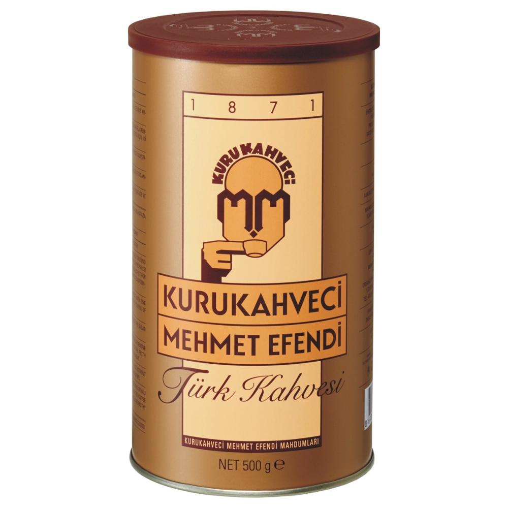 Turkish coffee ground Turkish coffee frothy coffee 500gr espresso Kurukahveci Mehmet Efendi()