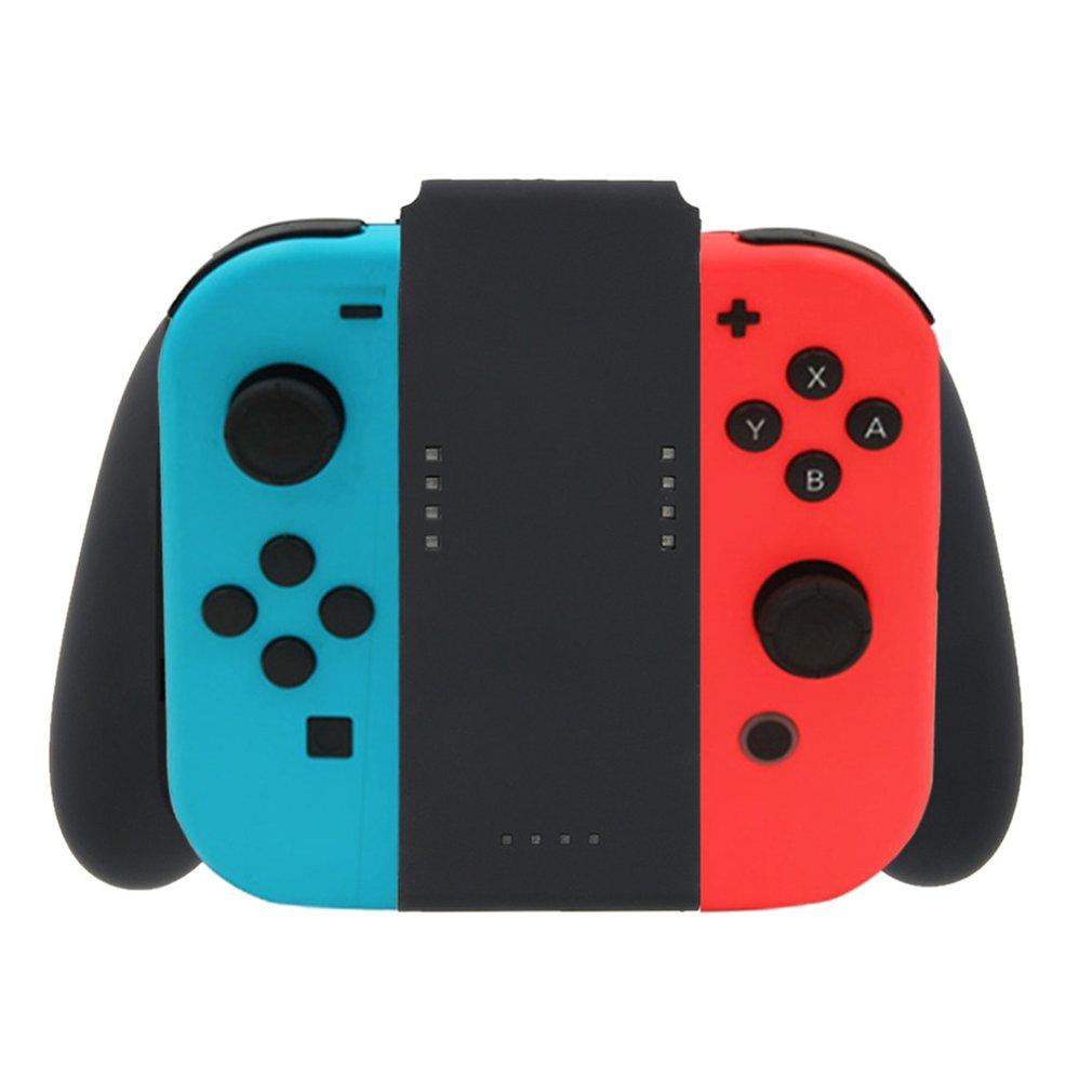 Neue Für Grip Griff Lade Dock Station Ladegerät Aufladbare Stehen für Nintendo Schalter Freude-Con NS Griff Controller Ladegerät