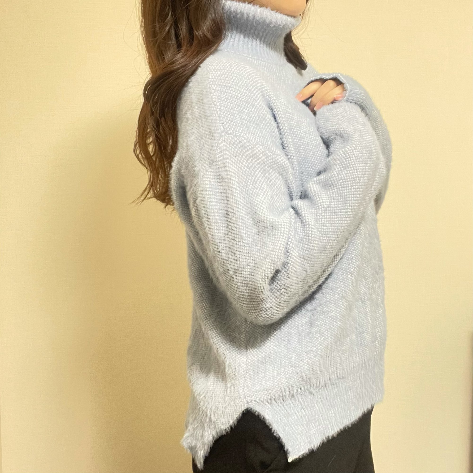 Autumn Winter Sweater Women Knitted Fashion Loose Casual Thick Sweaters Solid Color Long Sleeve Plus Size Warm Ladies Pullover photo review