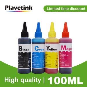 Набор чернил для HP 903 904 905, 100 мл, 4 цвета, чернильный картридж, СНПЧ, чернила для HP OfficeJet Pro 6950 6956 6960 6970