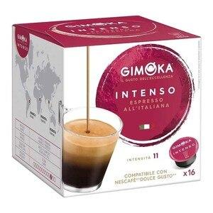 Espresso Intense Gimoka®, Dolce Gusto®Compatible 16 capsules