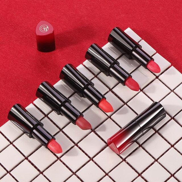 11 colors Long Lasting Matt Lipstick Nude Makeup Moisturizing Lip Stick Red Lip Pigmented Velvet Cosmetic pomade Beauty & Health