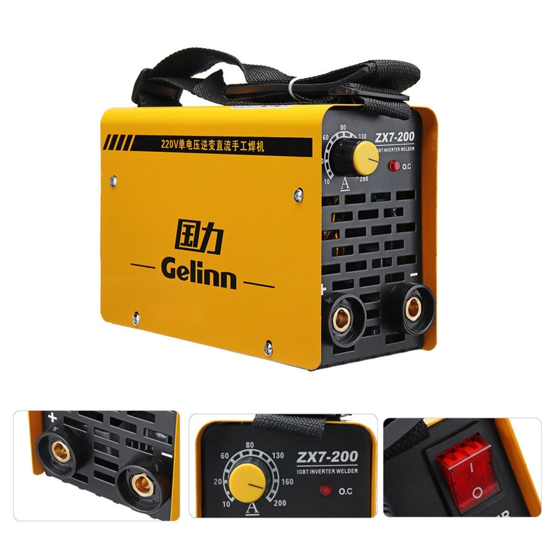 250A Welding Mahine <font><b>Arc</b></font> Electric Welding Inverter ZX7-250 ZX7-<font><b>200</b></font> 220V MMA Welder for Welding Working and Electric Working image
