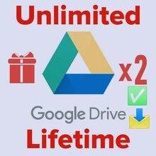 Google Drive illimité 1 + 1 = 2 avec votre Gmail personnel