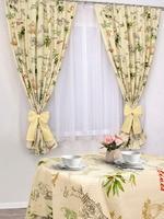 Set curtains for kitchen Mesmer Apulia cotton 150 180 cm 2 PCs