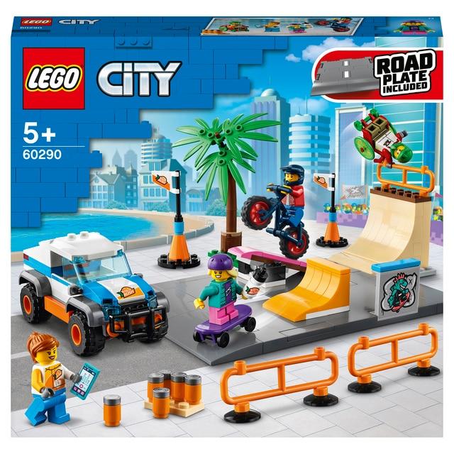 Конструктор LEGO City Community Скейт-парк