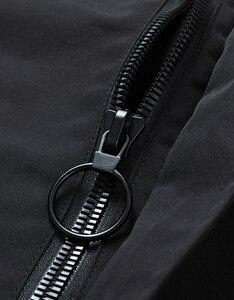 Image 5 - Nieuwe safari stijl jas mannen Herfst Hooded dunne windjack streetwear hip hop rits gele jassen corta vento A037 GSJK0046