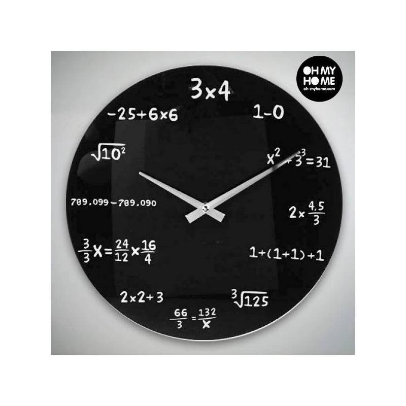 Wall Clock Math Ooh My Home