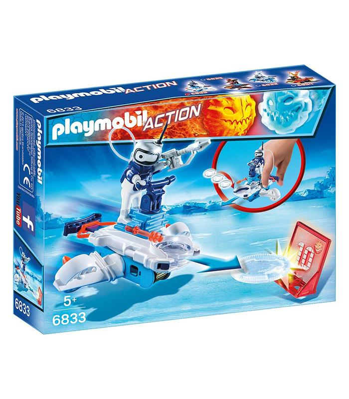 Playmobil 6833 Android Ice With Launcher Toy Store