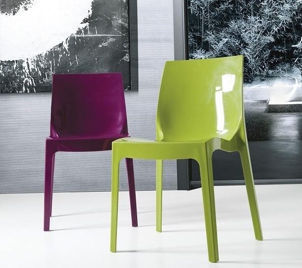 Chair ANTARCTICA, Polypropylene, Green High Brightness