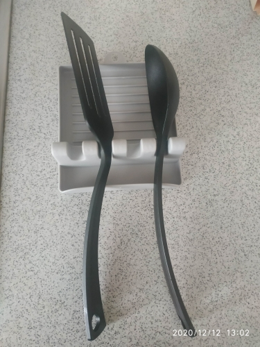 Kitchen Spoon Fork Spatula Holder photo review