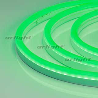 021527 Flexible Neon ARL-CF2835-U15M20-24V Green (26x15mm) ARLIGHT 50th