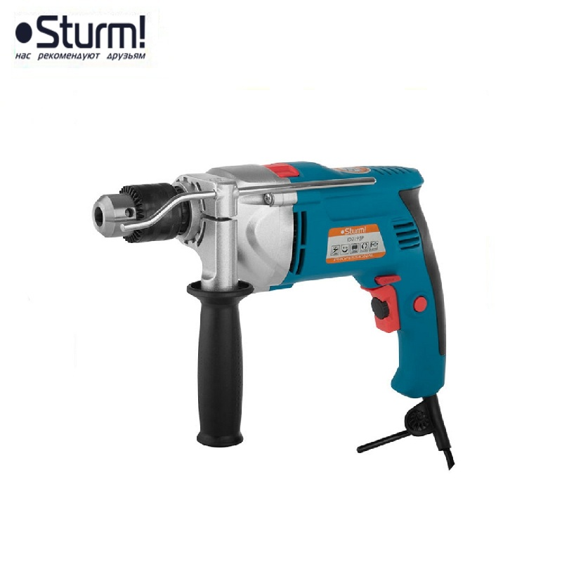 ID2195P hammer drill pros Sturm, 1000 W, 0-2700 rpm, 0-45900 bpm Percussion drill Boring Hammer drilling in concrete hammer drill electric redverg rd rh1500 power 1500 w drilling in concrete to 36mm антивибрационная system