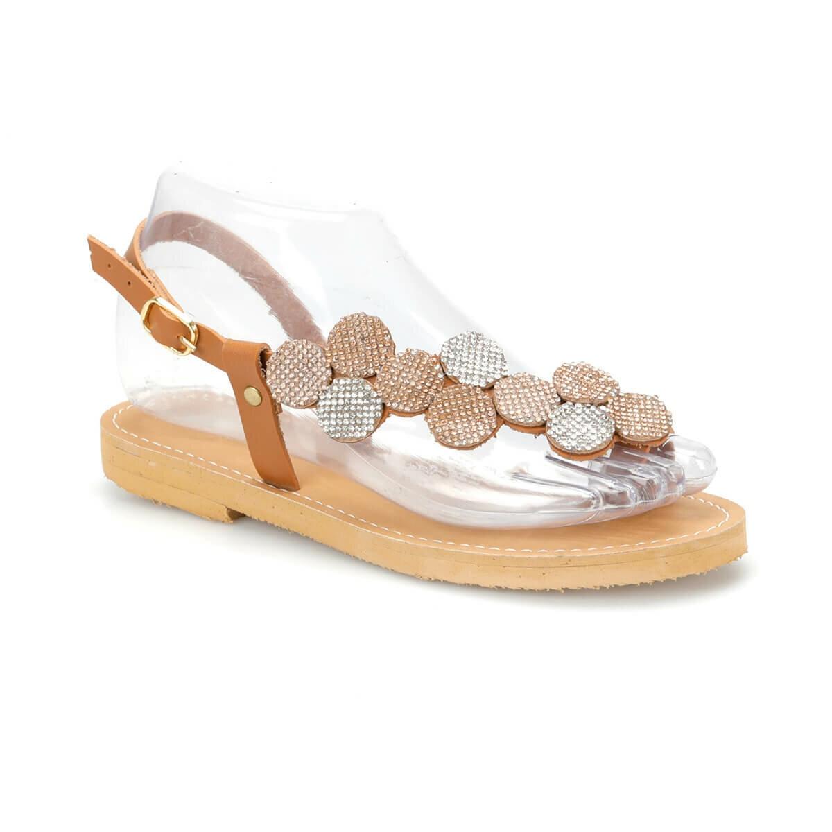 FLO DS19082 Tan Women 'S Sandals Miss F