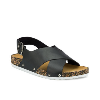 FLO 315539.Z Black Women Sandals Polaris